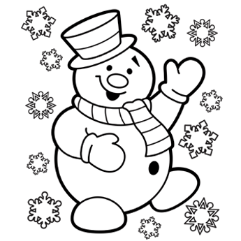Christmas Coloring Pages | 345x345