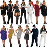 1920s Costumes-Flapper Dresses and Gangster Suits