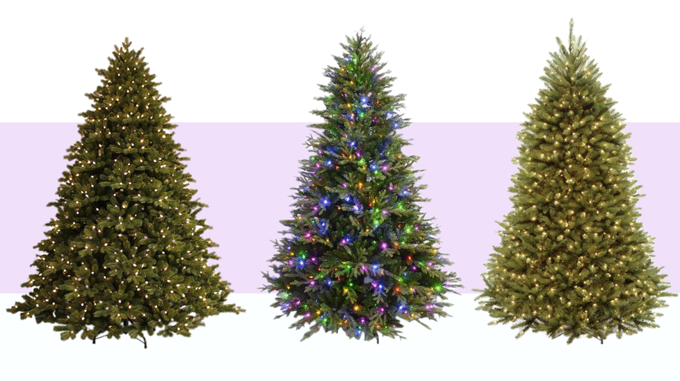 Best Prelit Artificial Christmas Trees 2020 10 Best Artificial Christmas Trees in 2019 2020