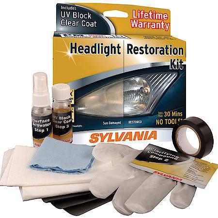 Sylvania 38771 Headlight Restoration