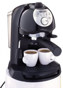 De'Longhi BAR32 Retro 15 BAR Pump Espresso and Cappuccino Maker