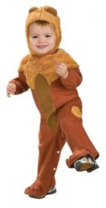 Wizard Of Oz Cowardly Lion Romper Costume