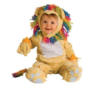 Fearless Lion Baby Costume