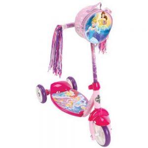 Huffy Girls' Disney Princess 3 Wheel Preschool Scooter