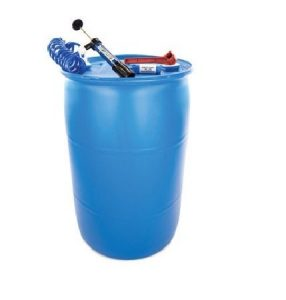 Shelf Reliance® Deluxe BPA Free 55-gallon Barrel Water Storage System Includes Water Filter Pump By Aquamira, Food Grade Water Barrel