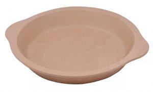 """6002 Stone Bakeware 9"""" Round Pie Baker Plate (Rada Cutlery)"""