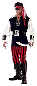 California Costumes mens Adult Cutthroat Pirate Costume