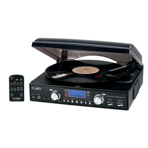 Jensen JTA-460 3-Speed Stereo Turntable
