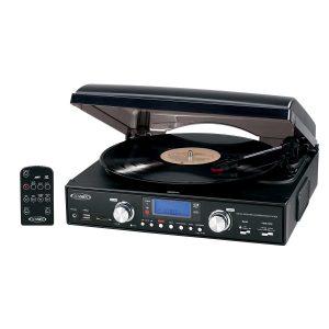 Jensen JTA-460 3-Speed Stereo Turntable