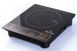 Portable Induction Cooktop Countertop Burner, Gold