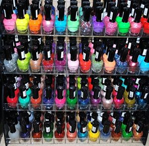 48 Piece Rainbow Colors Glitter Nail Polish Lacquer Set