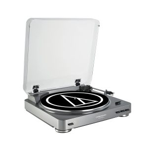 AUDIO TECHNICA AT-PL60USB FULLY AUTOMATIC BELT DRIVEN USB TURNTABLE REVIEW