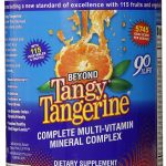 Beyond Tangy Tangerine Reviews Spotlight The Complete Multi-Vitamin Supplement