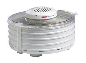 Nesco FD-37A American Harvest Food Dehydrator, White, 400-watt