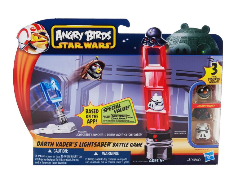 Angry Birds Star Wars Toys Full Set Available Here