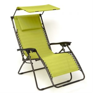 Brylanehome Zero Gravity Chair With Pillow And Canopy