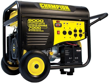 Champion Generators dual fuel