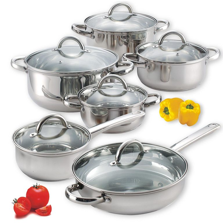 10 Best Stainless Steel Pots and Pans Reviews & Buyer Guide 2020