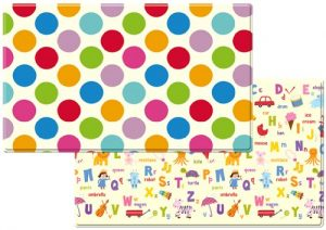 Dwinguler Eco-friendly Kids Play Mat - Polka Dots (Large)