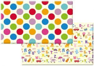 Dwinguler Eco-friendly Kids Play Mat - Polka Dots (Large)