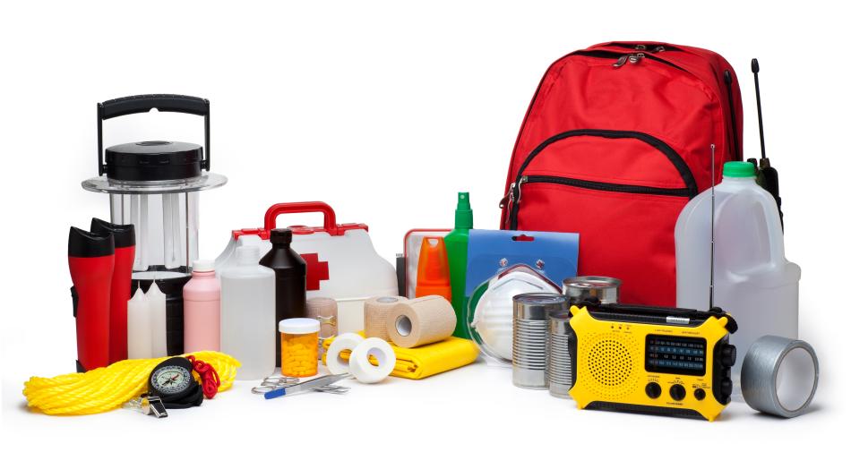 Emergency kit for school