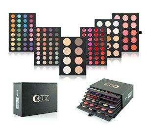 Frola Cosmetics Pro 134 Colors 6 Layers All-in-One Makeup Palette Set Combo