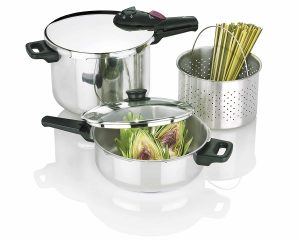 Fagor 2-by-1 Splendid 5-Piece Pressure Cooker Set Review