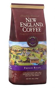 French Roast, Ground, 10-ounce Bags (Pack of 3),New England
