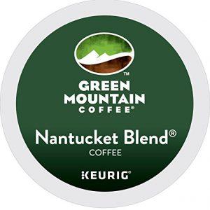 Green Mountain Coffee Nantucket Blend Keurig Single-Serve K-Cup Pods, Medium Roast Coffee, 24 Count