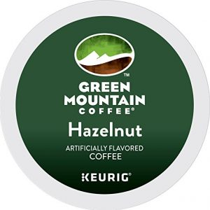Green Mountain Coffee Hazelnut Keurig Single-Serve K-Cup Pods, Light Roast Coffee, 24 Count