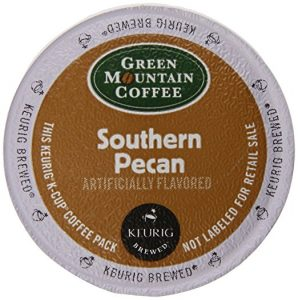 Green Mountain Coffee Southern Pecan, Light Roast, K-Cup Portion Pack for Keurig Brewers 24-Count