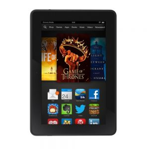 Kindle Fire HDX 7″, HDX Display
