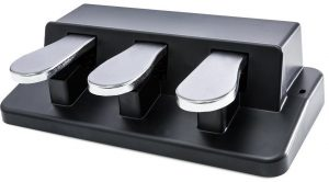 Electronic Keyboard Pedal with Sustain