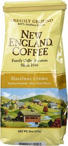 New England Coffee Hazelnut Creme, Ground, 11 Oz (Pack of 3)