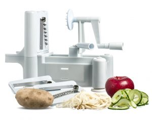 Best Essential Tri-Blade Spiral Vegetable Slicer