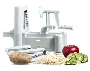 Best Essential Tri-Blade Spiral Vegetable Slicer