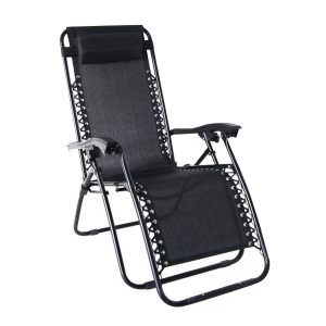 Odaof Zero Gravity Recliner Lounge Patio Pool Chair