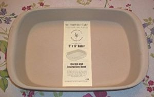 Pampered Chef Family Heritage Stoneware Rectangular Baker #1430