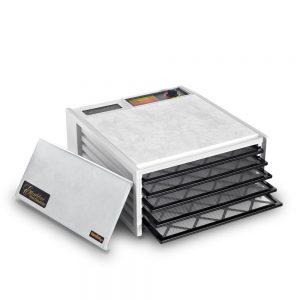 Excalibur EXD500W 5 Tray Dehydrator, White
