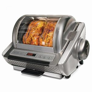Ronco EZ Store Rotisserie Oven 5250 Series, Stainless Steel