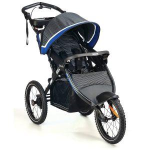 Schwinn Free Wheeler 2 Twin Swivel Wheel Jogging Stroller