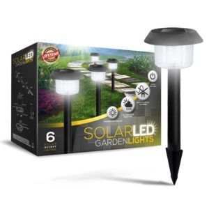 SolarGlow Solar Powered LED Garden Lights All-Weather Resistant