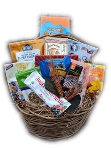 Vegan Food Gift Basket by Well Baskets