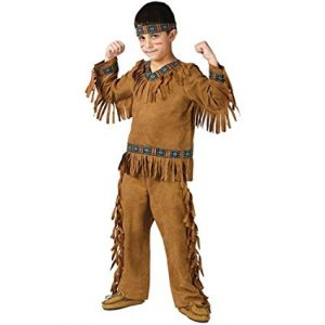 Kids Native American Indian Brave Costume