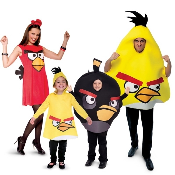 Angry Birds Costumes