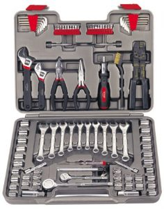 Apollo Tools DT1241 95-Piece Mechanics Tool Kit