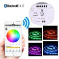 Bluetooth Smartphone App Controler Waterproof 5050 RGB Led Strip Light Kit