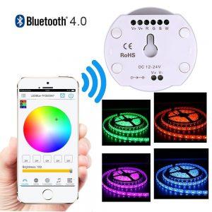 Bluetooth Smartphone App Controler Waterproof 5050 RGB Led Strip Light Kit