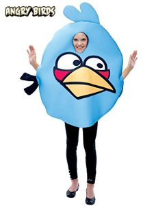Blue Angry Birds Costume