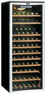 Danby DWC612BLP 75 Bottle Wine Cooler – Platinum
